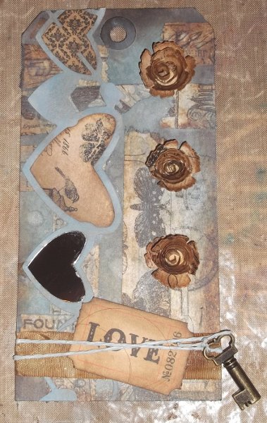 My Tak on Tim Holtz 12 Tags of 2014